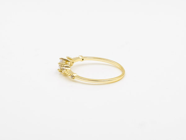 Gold Starry Ring