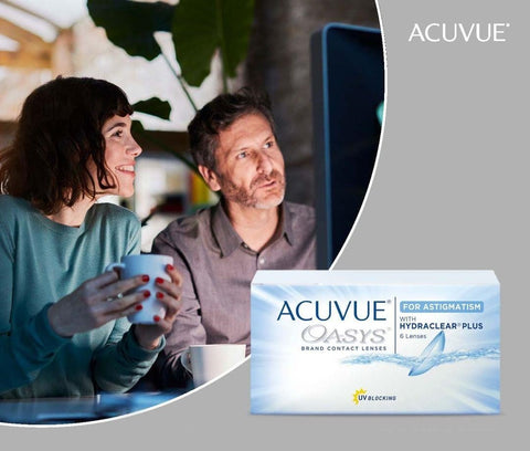 Acuvue Oasys for Astigmatism 2-Week Contact Lenses 6 Pack | anytimecontacts.com.au
