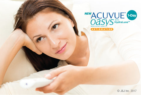 1 Day Acuvue Oasys for Astigmatism Daily Disposable Contact Lenses 90pk from Johnson & Johnson | anytimecontacts.com.au