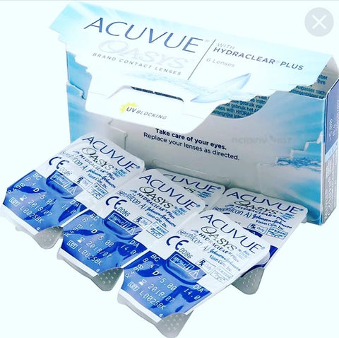 Acuvue Oasys 2-Week Contact Lenses 24 Pack | anytimecontacts.com.au
