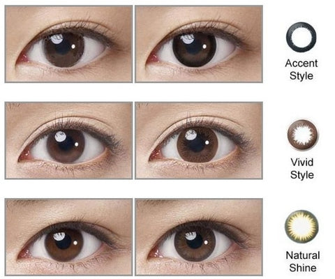 Define Vivid Accent Natural Effect | anytimecontacts.com.au