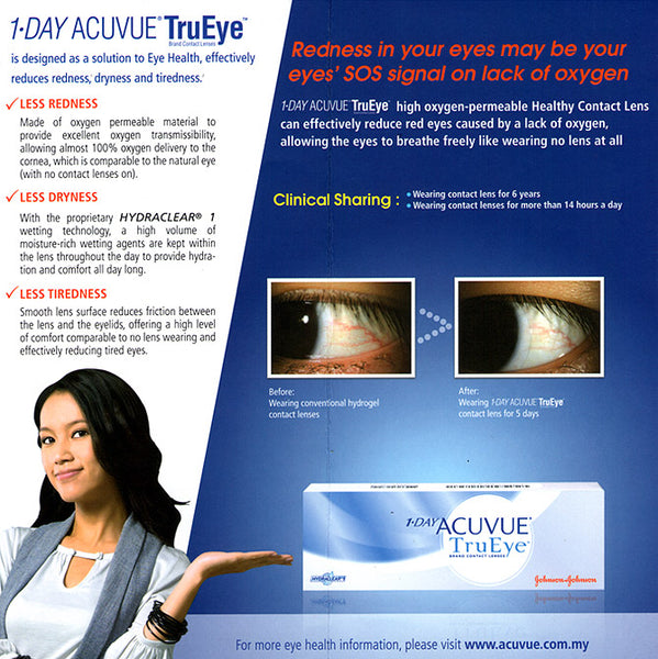 1 Day Acuvue TruEye 30 Pack | anytimecontacts.com.au