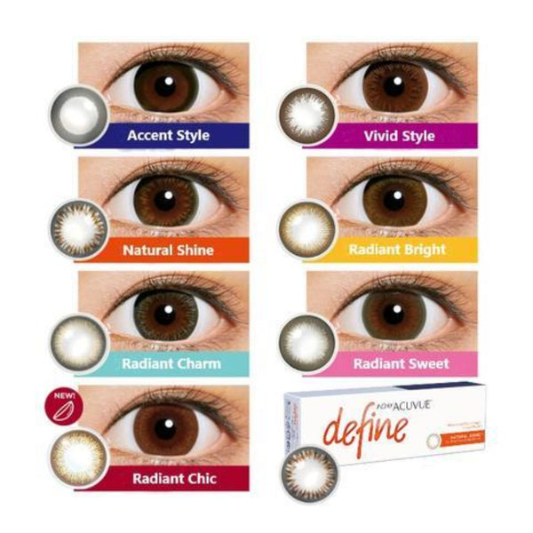 Acuvue Define Eye Colour | AnytimeContacts Australia
