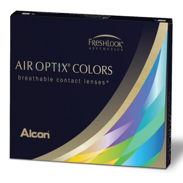 Air Optix Colors 2pk Monthly Coloured Disposable Contact Lenses from Alcon | anytimecontacts.com.au