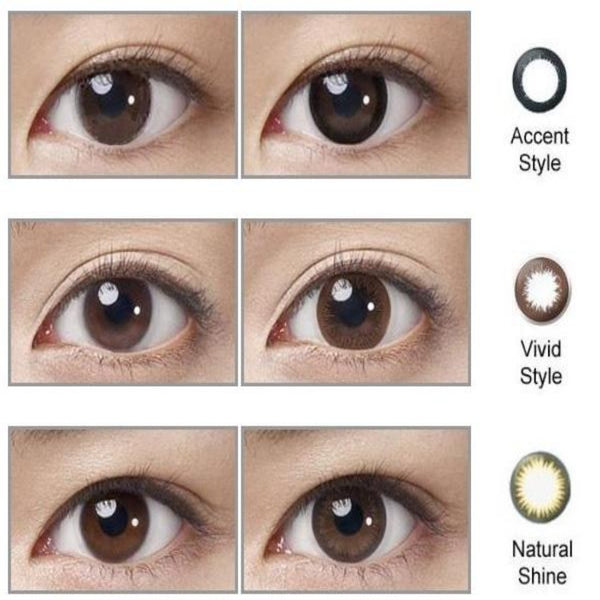Acuvue Define Vivid Accent Natural Shine Eye | AnytimeContacts Australia