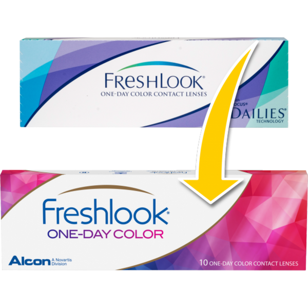 Buy FreshLook One Day Colour 10pk Daily Contact Lenses | anytimecontacts.com.au