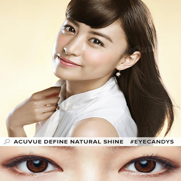 Acuvue Define Natural Shine| AnytimeContacts Australia