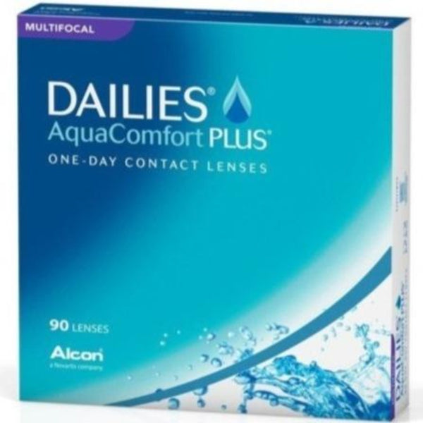 Buy Dailies AquaComfort Plus Multifocal 90pk Daily Contact Lenses from Alcon | anytimecontacts.com.au