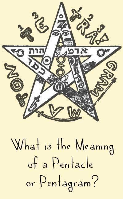 What Is A Pentacle Or Pentagram Pentacle Meaning Pentagram Meaning In Wicca Woot Hammy