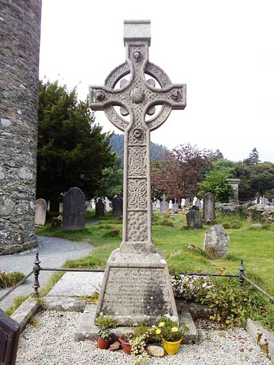 Celtic Cross at Glendalough