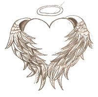 what do angel wings symbolize