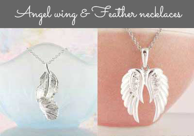 Angel necklace collection