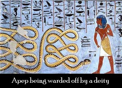 Apep, dragon symbolism in ancient Egypt