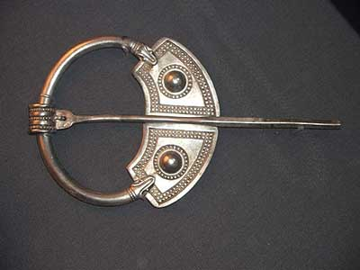 Celtic brooch from the British Museum