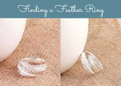 Finding a feather ring