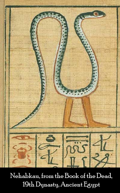 Nehabkau, dragon symbolism in ancient Egypt