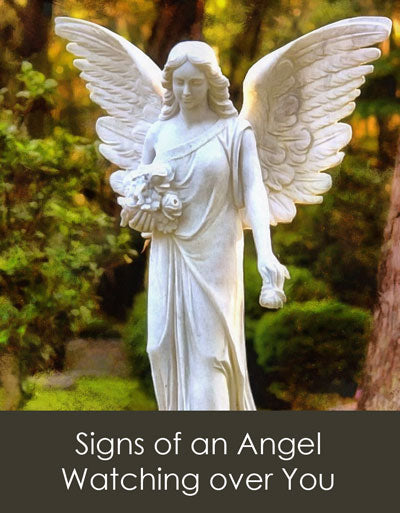 Signs of an Angel watching over you.