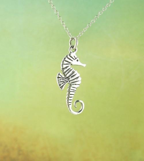 Graceful Seahorse Necklace - woot & hammy