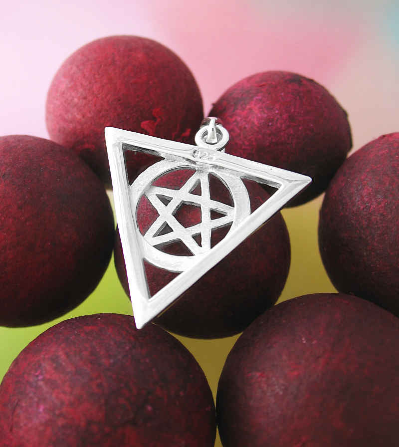 Cut-Out First Degree Wicca Pentacle Pendant | woot & hammy