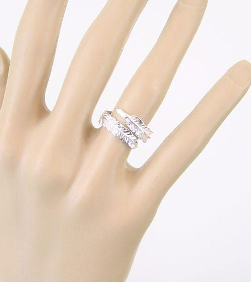 Finding a Feather Adjustable Wrap Ring - woot & hammy