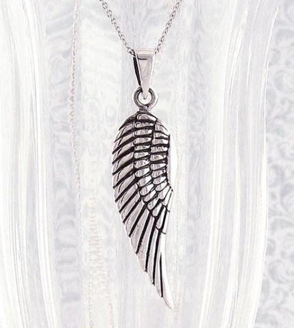 Elegant Angel Wing Necklace - woot & hammy