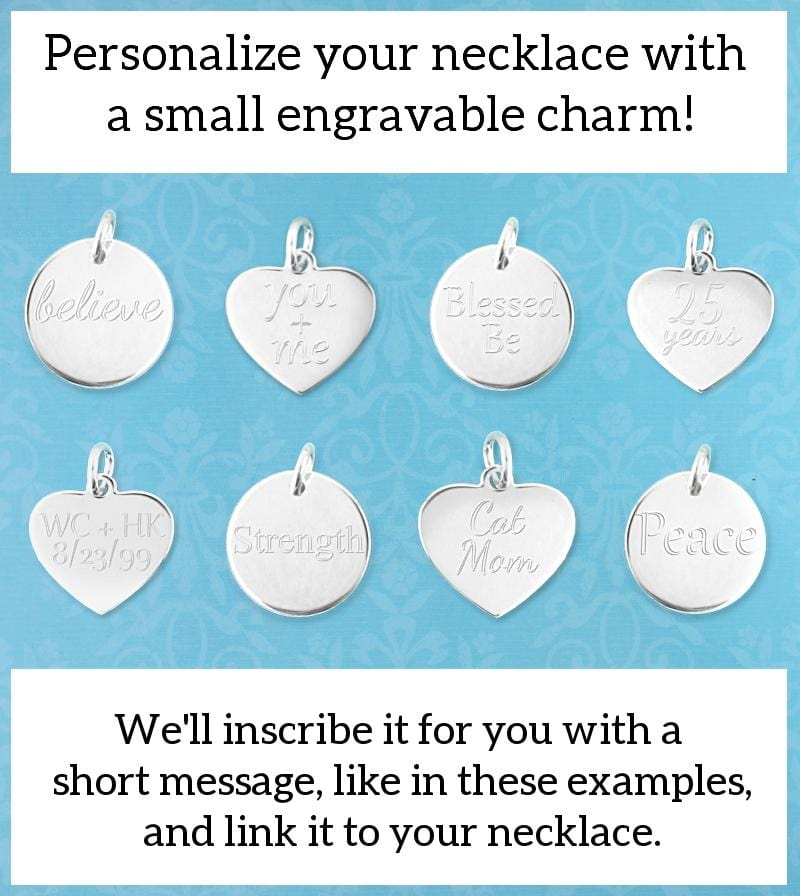 Mother Daughter Friends Forever Heart Tag Pendant
