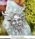 Celtic Nature God Cernunnos With Antlers Pendant | Woot & Hammy