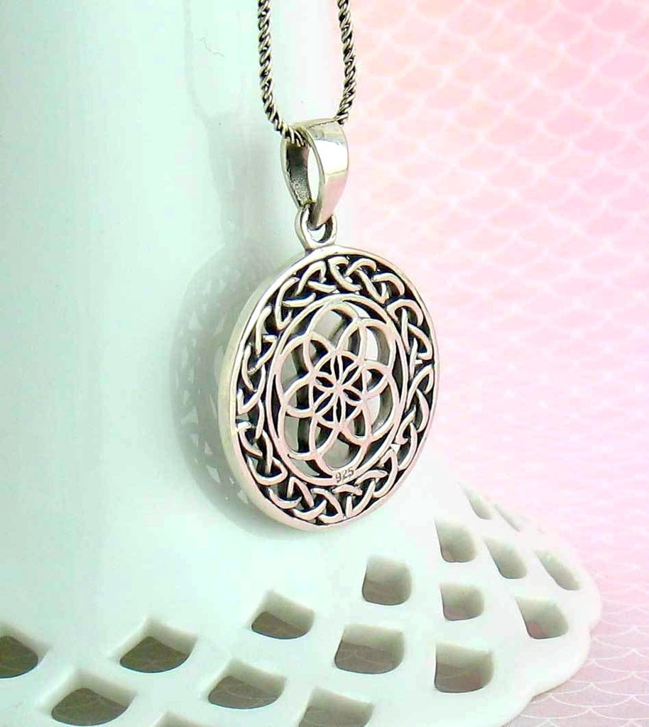 Celtic Seed of Life Necklace - woot & hammy