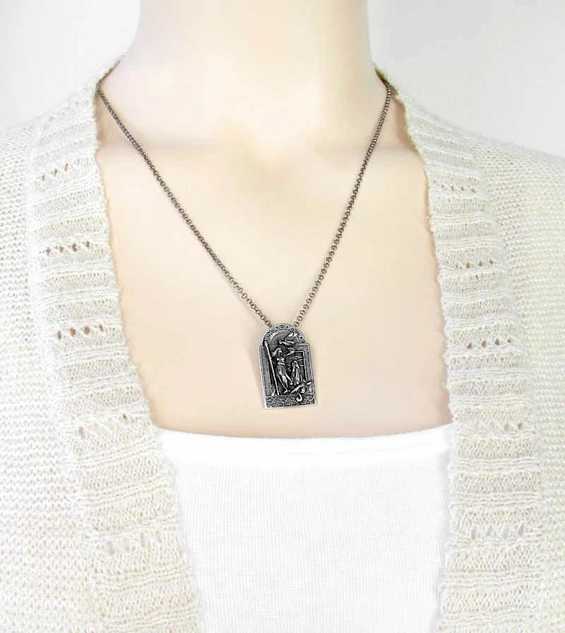 Celtic War Goddess The Morrigan Pewter Necklace | woot & hammy thoughtful jewelry