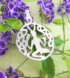 Celtic 'Horned God' of Nature Cernunnos Pendant in Pewter | woot & hammy