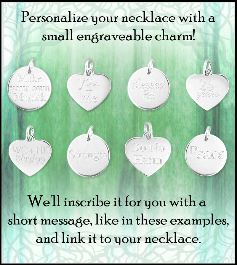 Small Engravable Heart Charm
