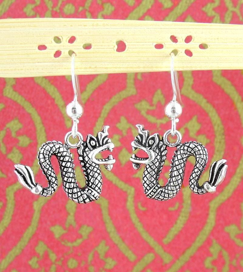 Good Luck Chinese Dragon Earrings | woot & hammy thoughtful jewelry