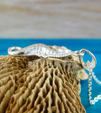 Realistic Curly-Tailed Seahorse Necklace - woot & hammy