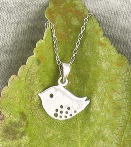 Little Spotted Bird Necklace - woot & hammy