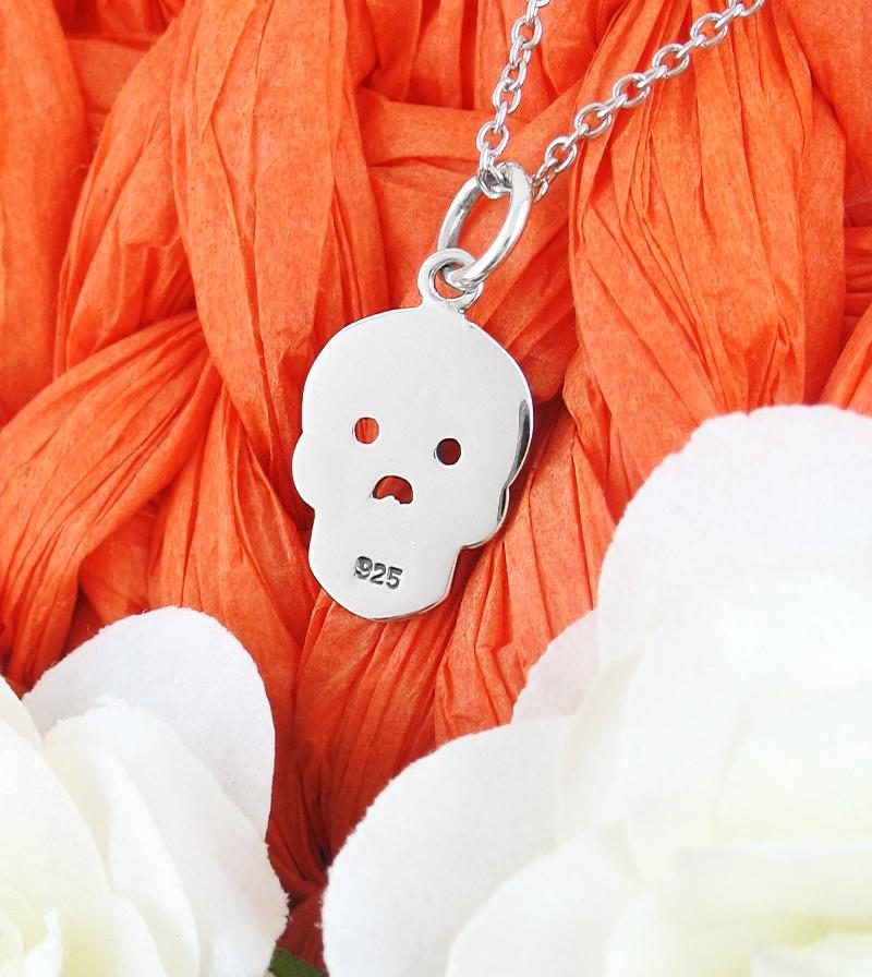 Day of the Dead Skull Necklace | woot & hammy thoughtful jewelry