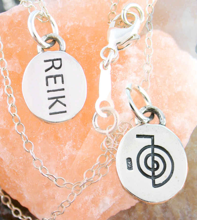 Double-Sided Reiki Cho Ku Rei Symbol Charm | Woot & Hammy