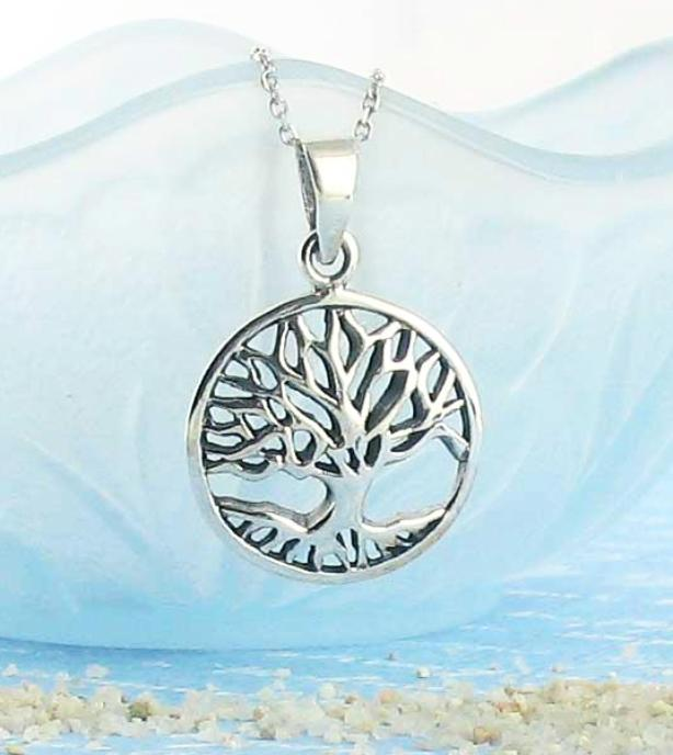 Steadfast Tree of Life Necklace - woot & hammy