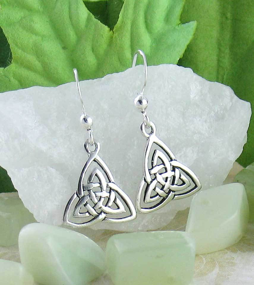 Celtic Trinity Knot Earrings - woot & hammy