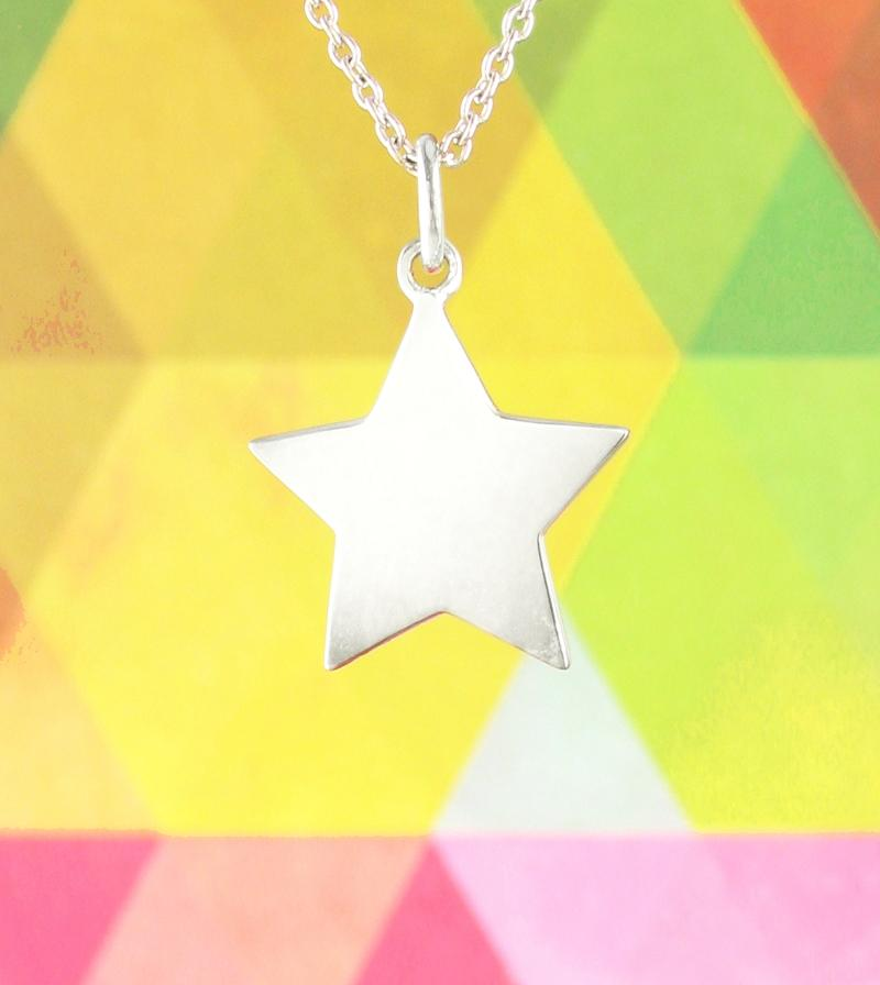 Engravable Star Pendant Necklace | woot & hammy thoughtful jewelry