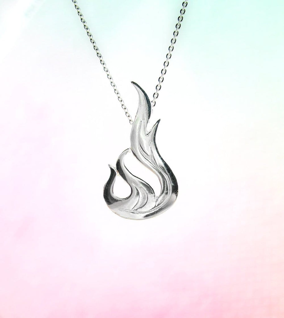 Dancing Flame Necklace - woot & hammy