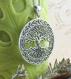 Majestic Tree of Life Medallion Pendant