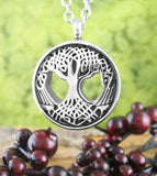 Cut-Out Celtic Tree of Life Urn Necklace – Stainless Steel | woot & hammy thoughtful jewelry