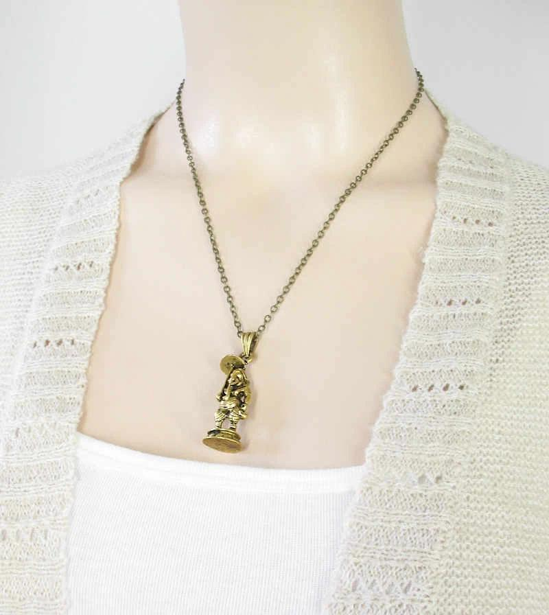 Miniature Hindu God Ganesha Necklace | woot & hammy thoughtful jewelry