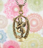 Miniature Hindu God Dancing Ganesha Necklace | woot & hammy thoughtful jewelry