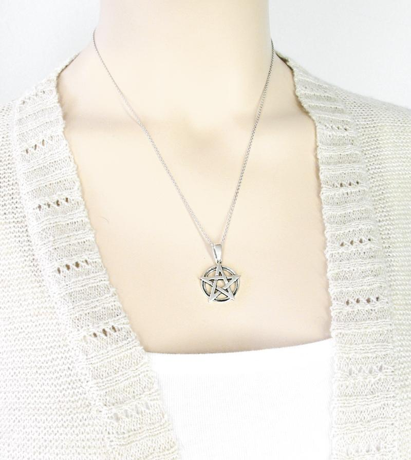 Pure Geometric Pentacle Necklace | woot & hammy thoughtful jewelry