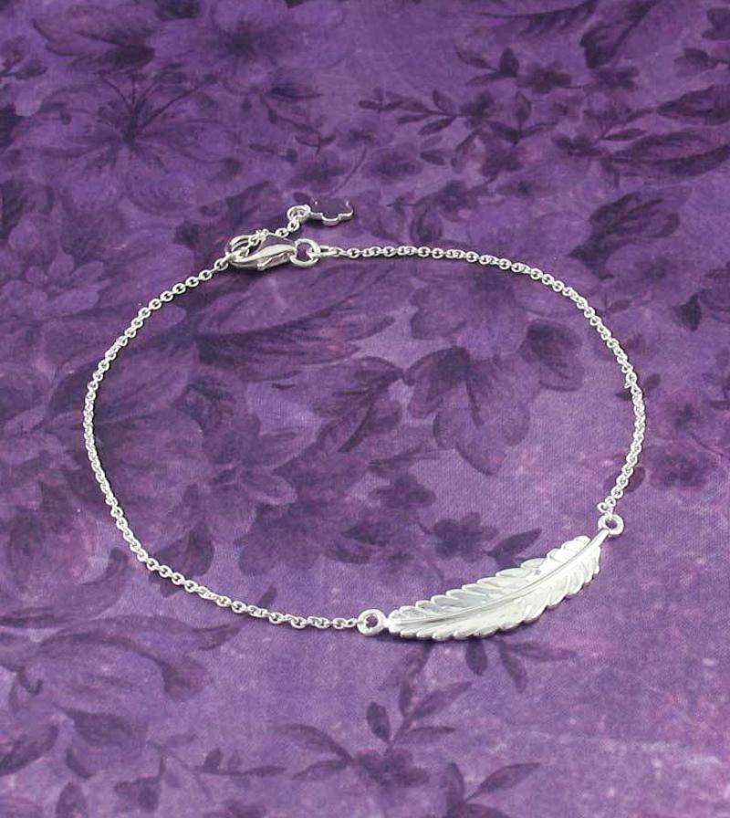 Sideways Feather Bracelet - woot & hammy
