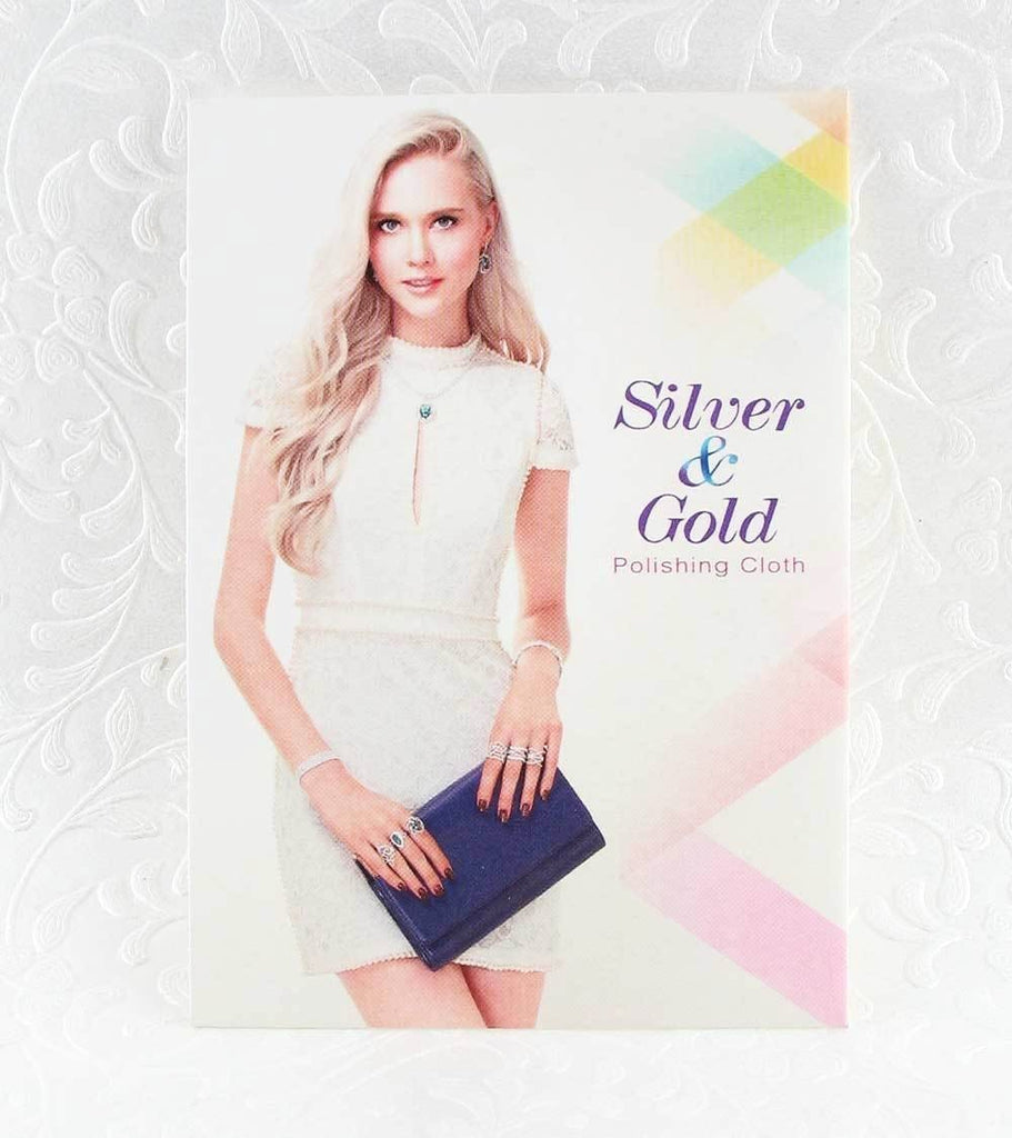 Polishing Cloth for Silver & Gold Jewelry - woot & hammy