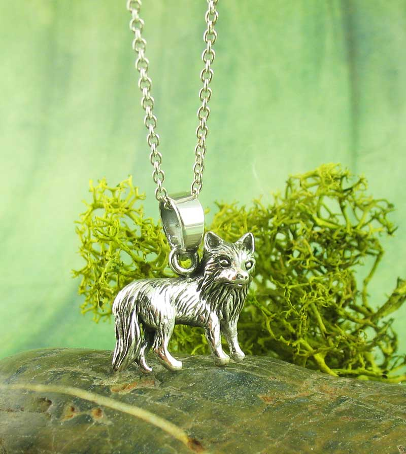 Little Wolf Pendant