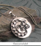 Moon Enveloping the Sun Necklace - woot & hammy
