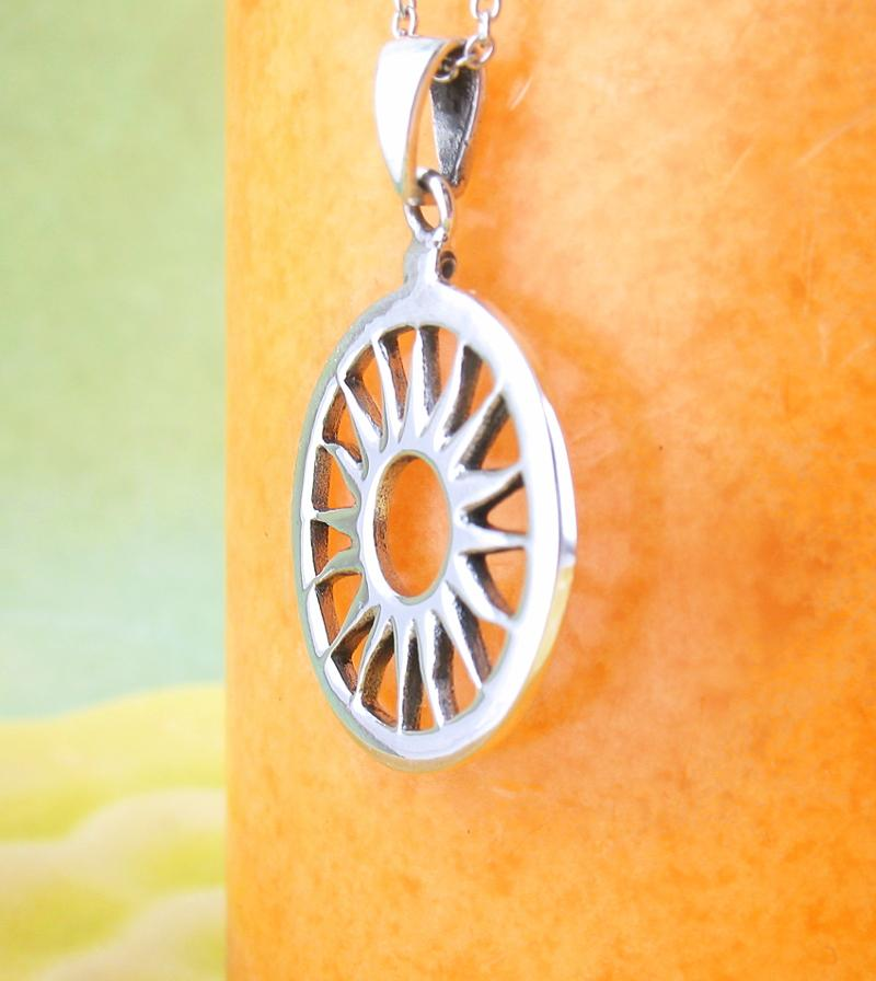Alchemical Gold and Sun Symbol Necklace | woot & hammy thoughtful jewelry